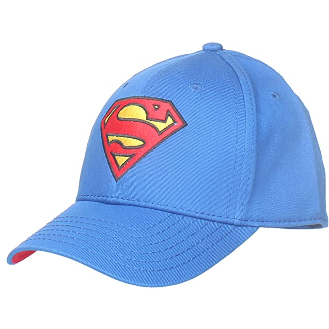 fb944b2996a Superman Boys Caps Blue  Amazon.in  Clothing   Accessories