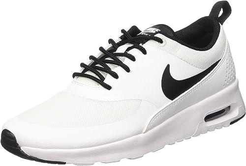 Black Nike Women/'s Air Max Thea Low-Top Sneakers