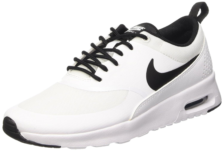 Nike Womens Air Max Thea WhiteBlackWhite Running Shoe 8.5 Women US