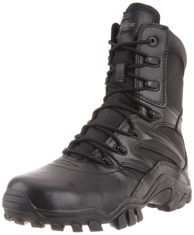 Bates Women's DELTA 8 Inch Boot B001UJETH0 8.5 B(M) US|Black