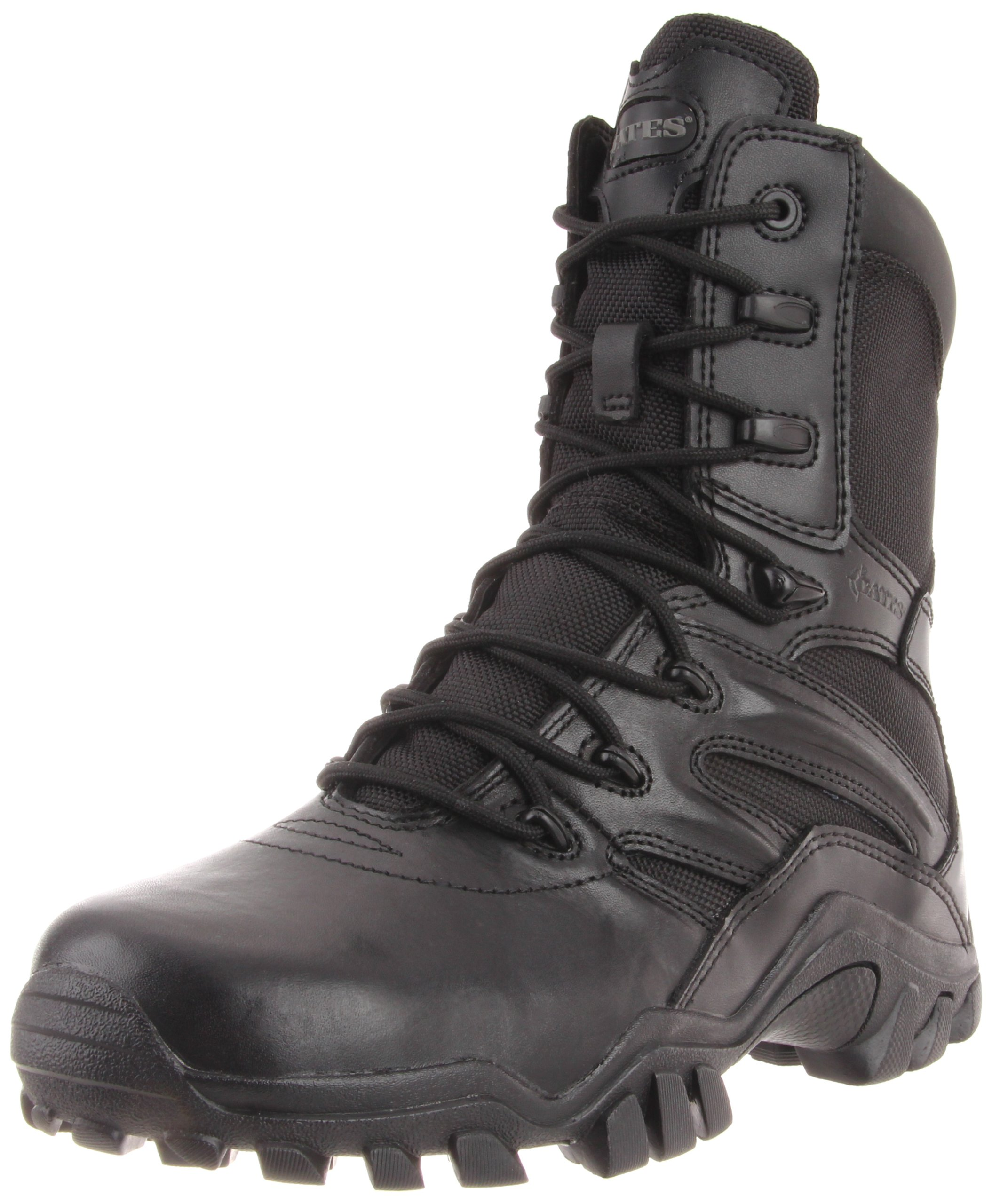 Bates Women's Delta 8 Inch Boot, Black, 7.5 M US by Bates