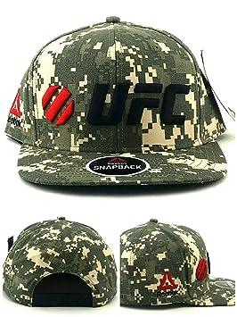 Reebok UFC RBK MMA - Gorra de Camuflaje Digital, Color Verde Oliva ...