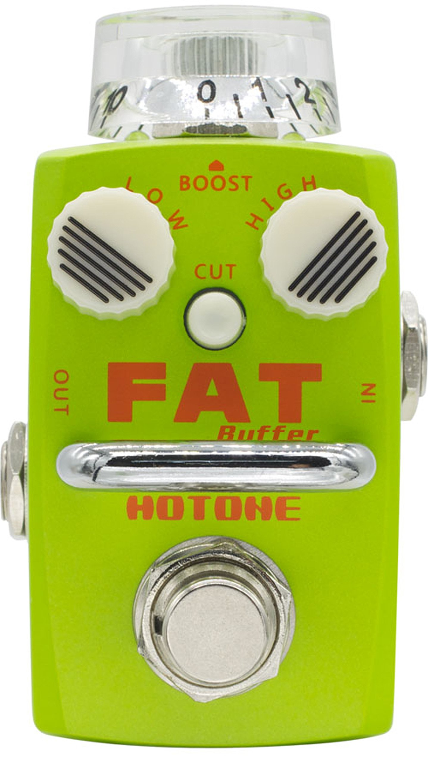 Hotone Fat Buffer Guitar Preamp Effects Pedal