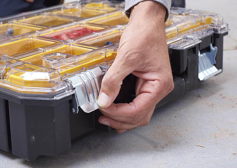 STANLEY FATMAX FMST82967-1 Organizador con tapa transparente gama TSTAK FatMax