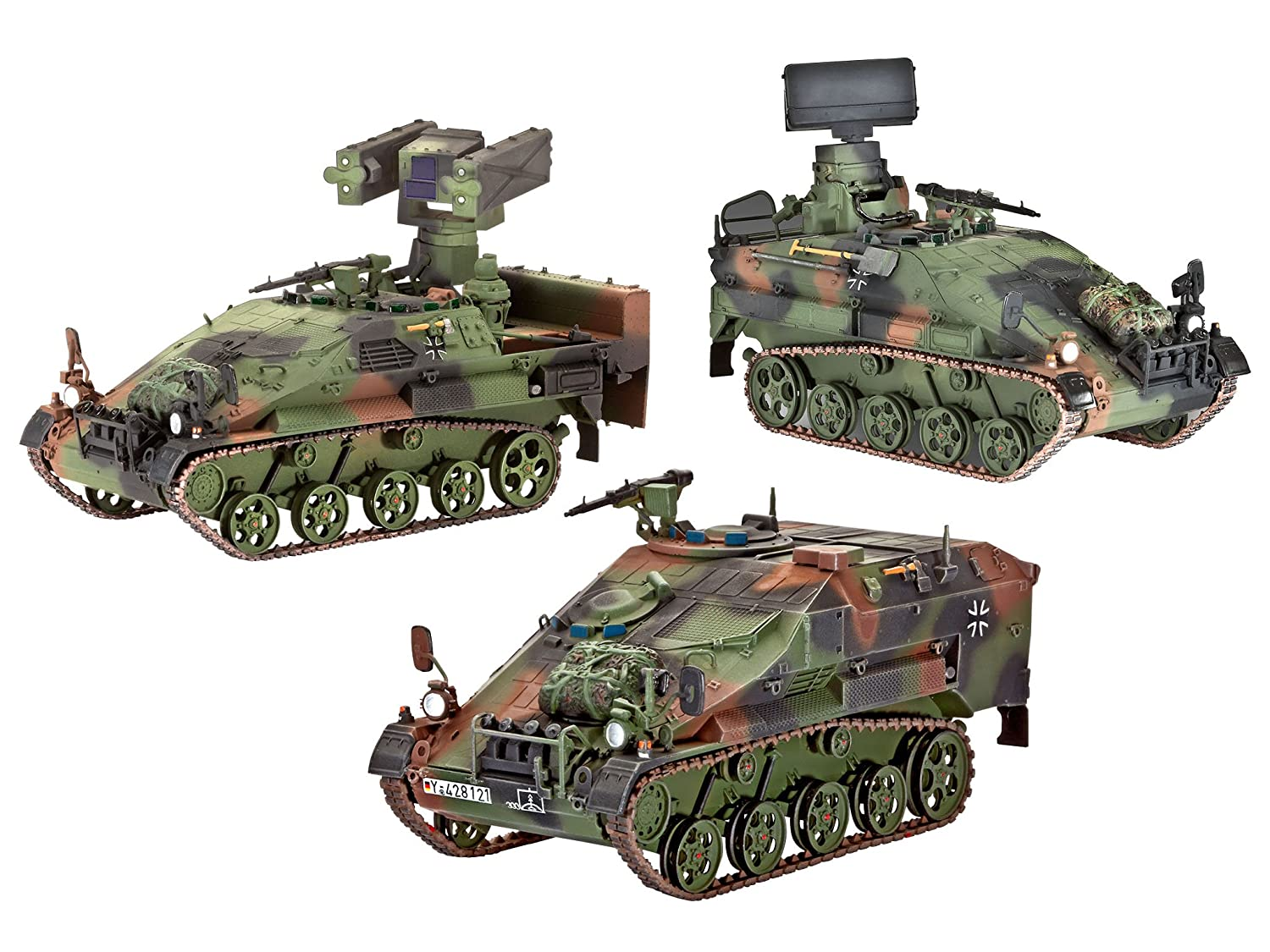 Revell VEHICULOS WIESEL 2 LEFLASYS (OZELOT,AFF Y BF)