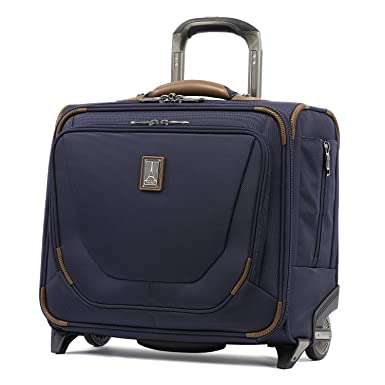 "36c81bbc3 Travelpro Luggage Crew 11 16"" Carry-On Rolling Tote Suitcase, Patriot  Blue"
