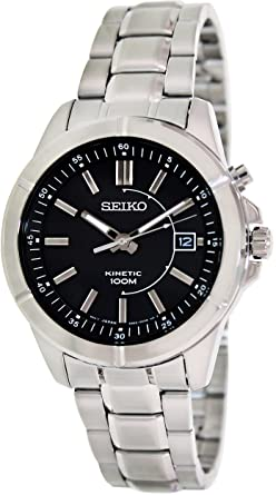 Seiko Kinetic 3-Hand with Date Mens watch #SKA537P1