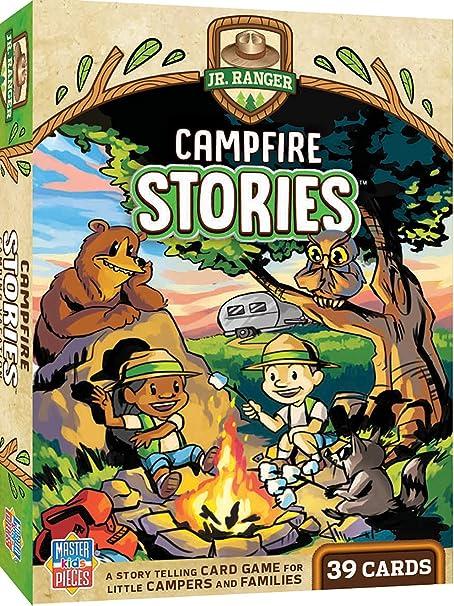 Amazon Masterpieces ジュニア レンジャー 小さな子供ゲーム キャンプファイヤーストーリー イラスト入りトランプ 2 6人 対象年齢6歳以上 ボードゲーム おもちゃ