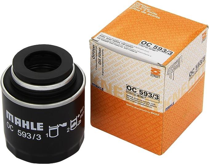 KNECHT OC 593/3 Filtro de aceite: Amazon.es: Coche y moto