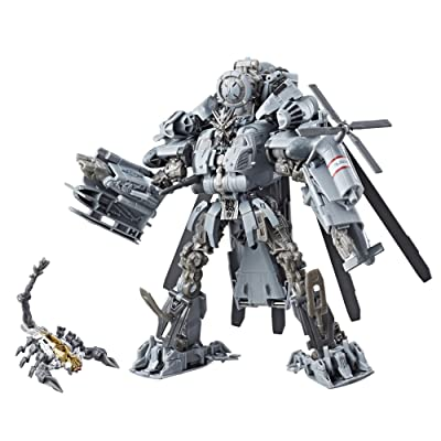 Transformers Studio Series 08 Leader Class Movie 1 Decepticon Blackout: Toys & Games