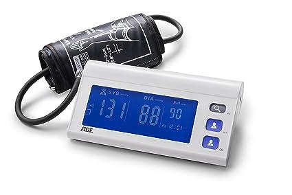 ADE Tensiómetro de brazo digital BPM1601 medición presión oscilométrica, pulso y aviso de arritmia.