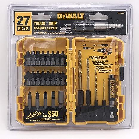 Amazon.com: DEWALT DW2504TG - Juego de brocas de ...