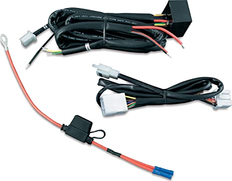 Kuryakyn 7672 Motorcycle Accessory: Plug & Play Trailer Wiring with on
