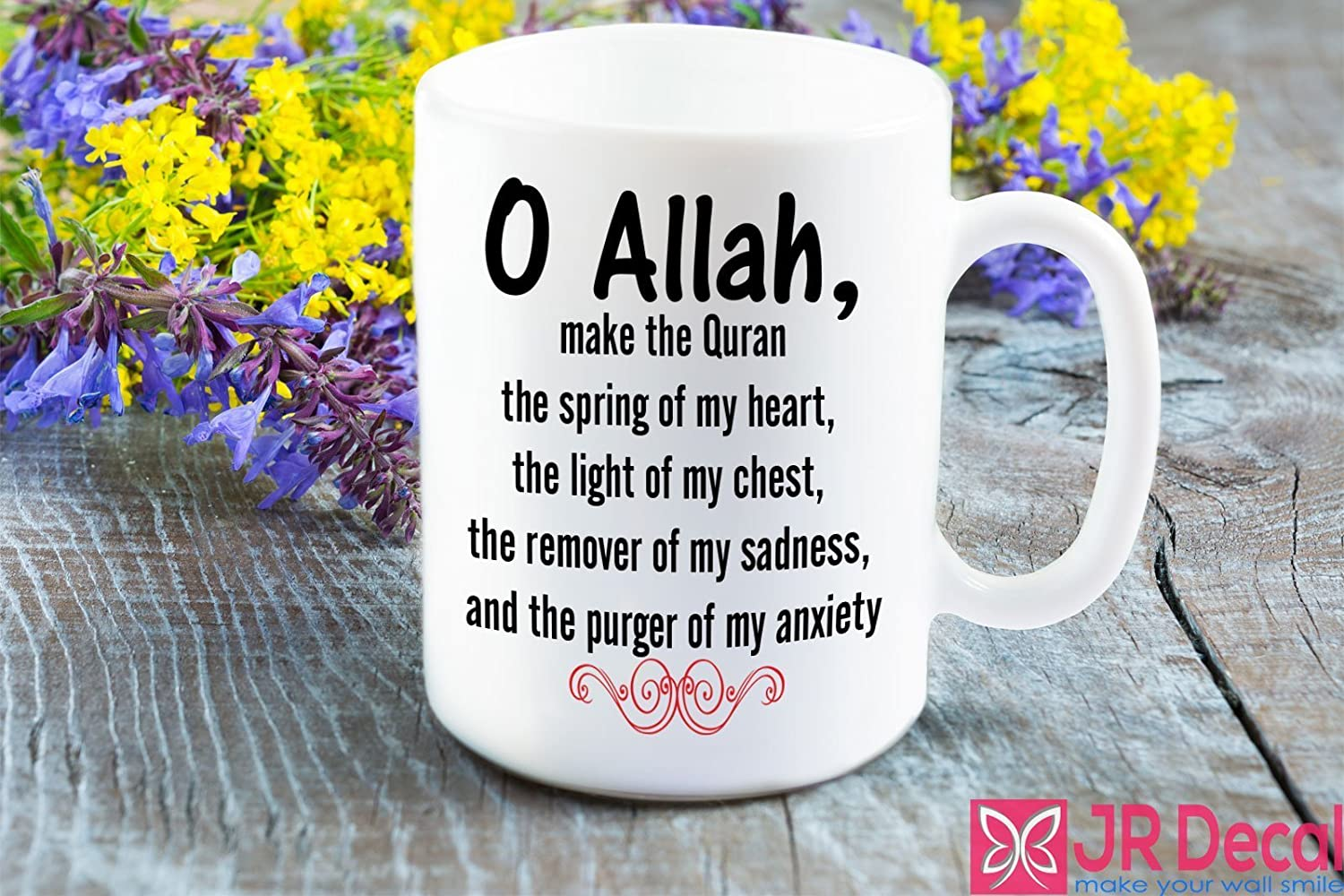 com islamic quote dua printed mug for muslim novelty eid