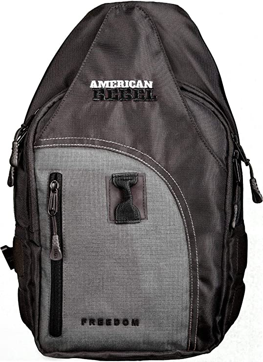 Concealed Backpack Holster for Men and Women, American Rebel Small Freedom Concealed Carry Backpack
