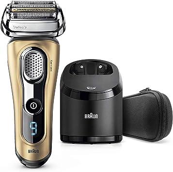 Braun Series 9 9299 cc - Afeitadora eléctrica hombre Wet&Dry, afeitadora barba con estación de limpieza y carga Clean&Charge, regalo, oro: Amazon.es: Salud y cuidado ...
