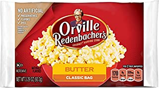 product image for Orville Redenbacher's Butter Popcorn, 3.29 Ounce Classic Bag, Pack of 36
