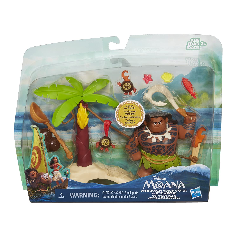 Disney Moana Maui the Demigods Kakamora Adventure Hasbro B8304000