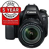 Canon EOS 6D Mark II Premium Kit with EF 24-105mm IS STM Digital Camera - SLR(6DIIPK) 3Inch Display,Black (Australian warranty)