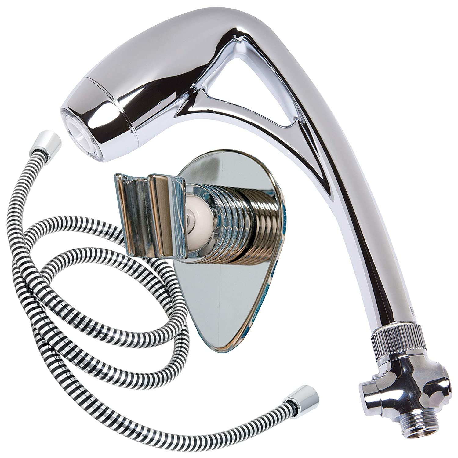 "ETL 26181 Plastic Body Spa Oxygenics Shower with 60"" Hose"