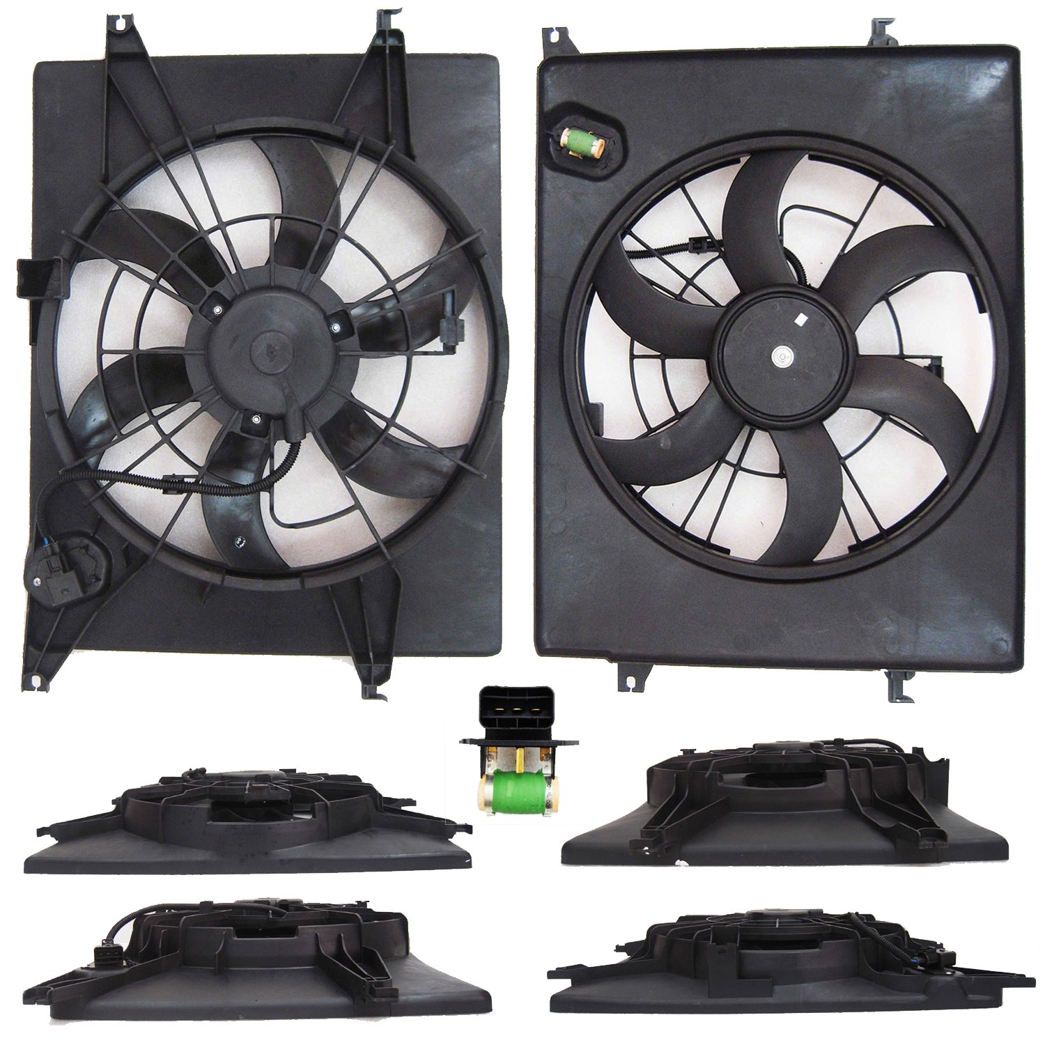 CPP Single Cooling Fan for Kia Optima, Hyundai Sonata HY3115139