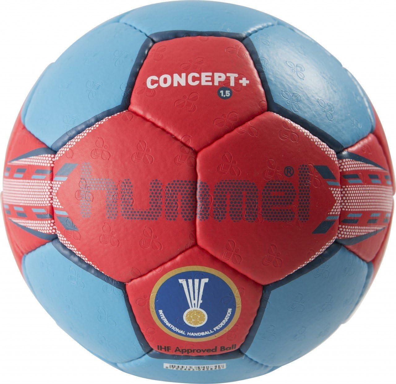 hummel 1.5 Concept Plus - Balón de Balonmano para Adulto Neon Blue ...