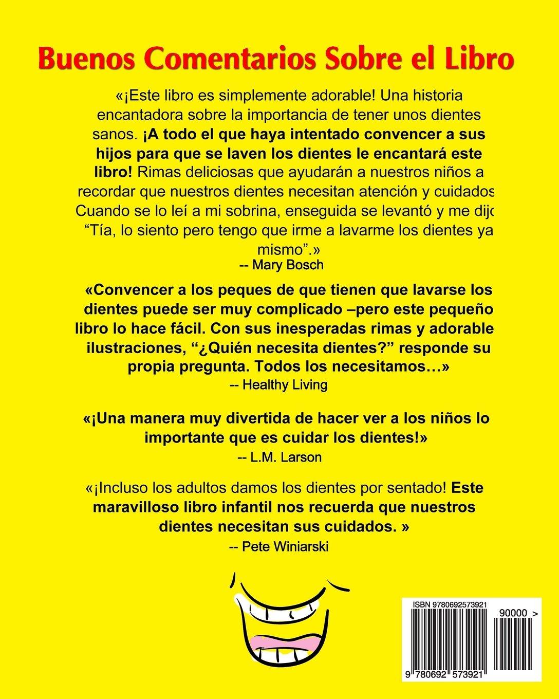 ¿Quién Necesita Dientes? (Spanish Edition): Sally Huss: 9780692573921: Amazon.com: Books