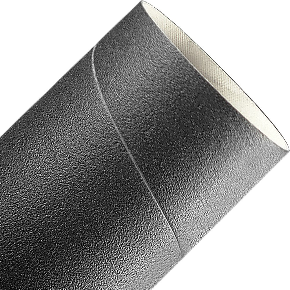 A&H Abrasives 140351, 10-Pack,''abrasives, Sanding Sleeves, Silicon Carbide, Spiral Bands'', 3x3 Silicon Carbide 80 Grit Spiral Band