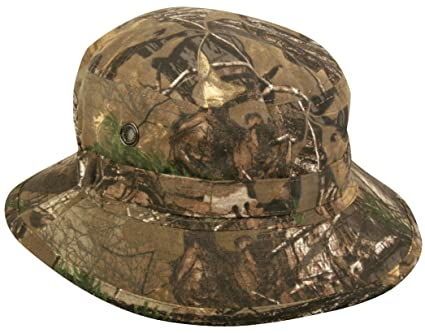 48130dc1 Realtree Camouflage Boonie Hat with Adjustable Chin Strap