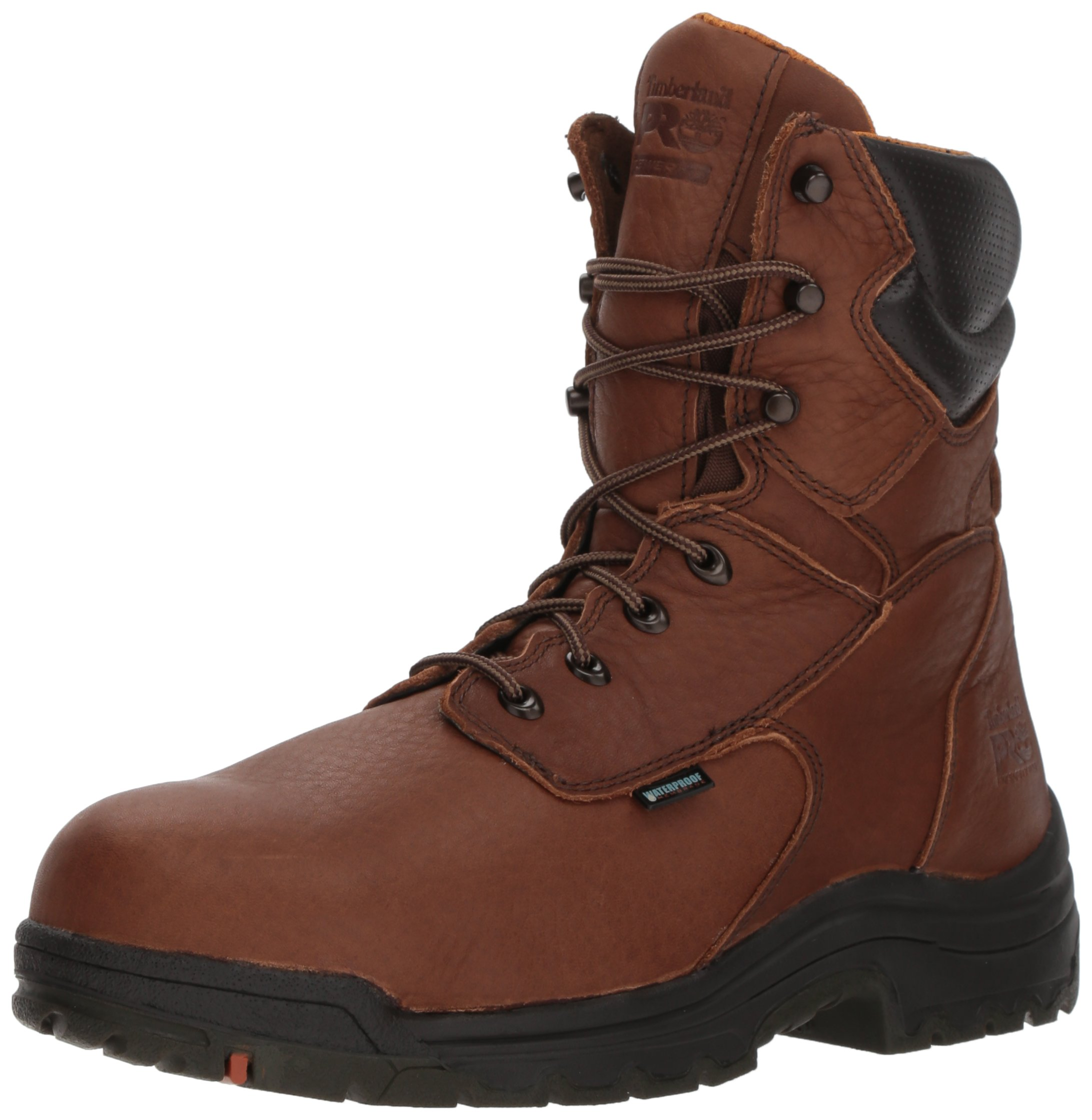 Timberland PRO Men's 47019 Titan 8'' Waterproof Safety Toe Boot,Brown,7 M by Timberland PRO
