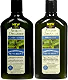 Avalon Organics Rosemary Volumizing Shampoo, 11-Ounce Bottle (Pack of 2)