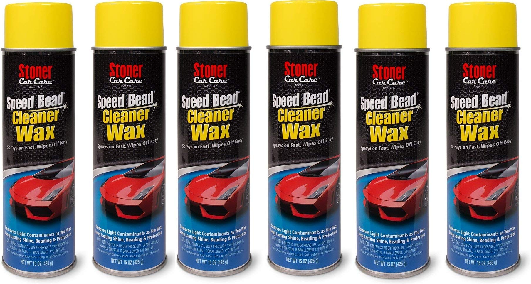 Stoner Car Care 91354 Speed Bead Quick Detailer - 15-Ounce (15 oz (Pack of 6))