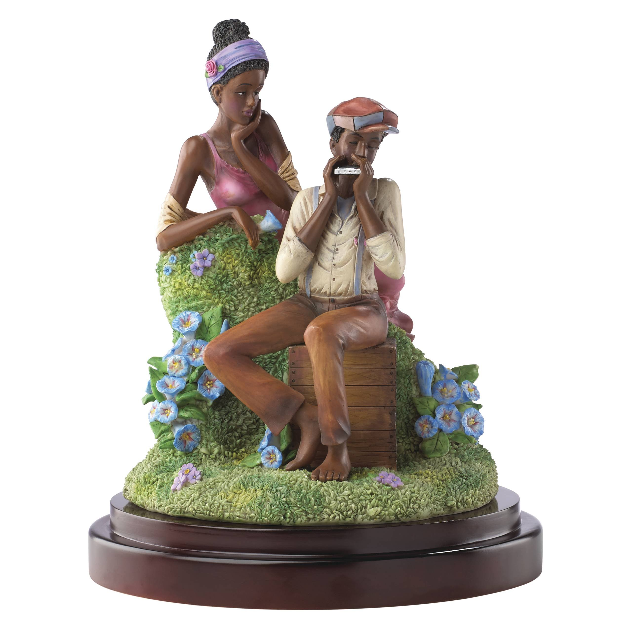 Lenox 855284 John Holyfield's Ebony Visions Love Jones Limited Edition Figurine