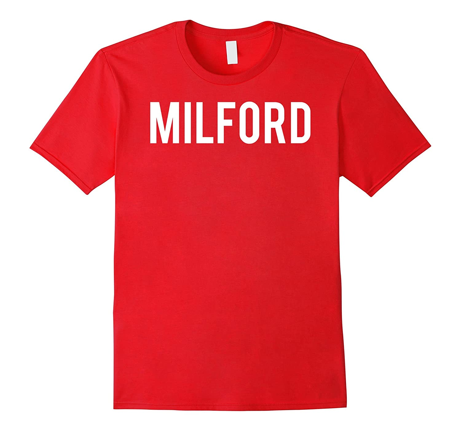 Milford T Shirt Cool Connecticut CT fan funny cheap gift tee-CL