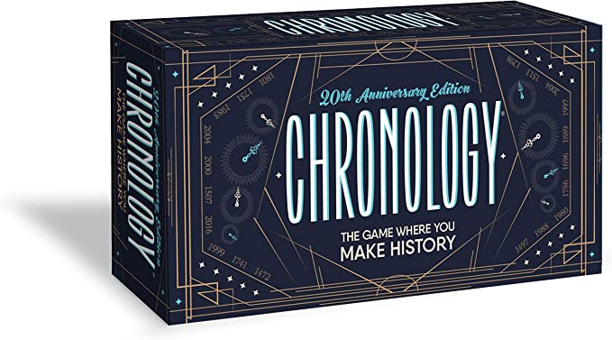 Buffalo Games Chronology - The Game Where You Make History - 20th Anniversary Edition