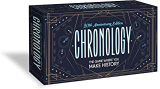 product image for Buffalo Games Chronology - The Game Where You Make History - 20th Anniversary Edition