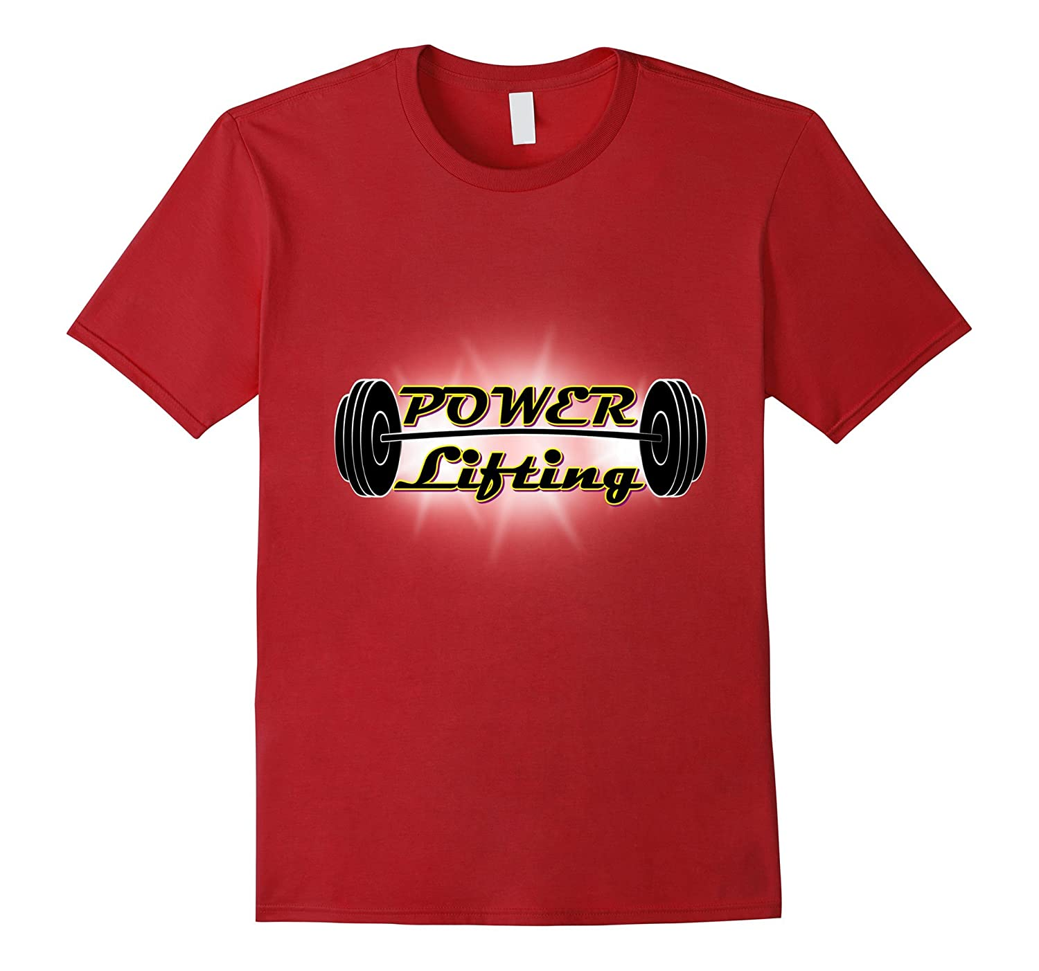 powerlifting t-shirt for men and women-TH
