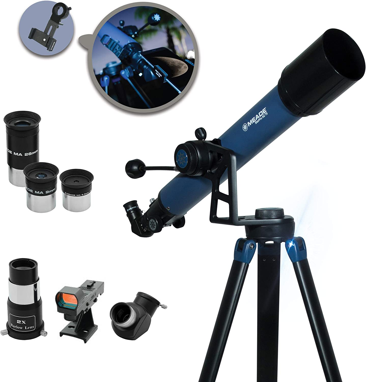 Meade Instruments Star Pro Az Refrakting Teleskop Und Kamera