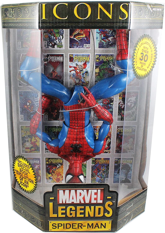 Spider Man 12 Action Figure Marvel Legends Icon