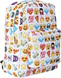 AllRight School Backpack Emoji Shoulder Bag Travel Rucksack Handbag Satchel