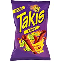 Takis Fuego Hot Chili Pepper & Lime Corn Snacks - 9.9oz 280g