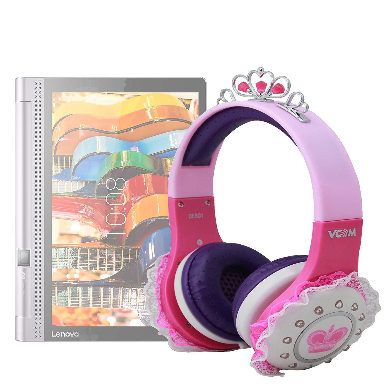 DURAGADGET Divertidos Auriculares De Princesa para Tablet ...
