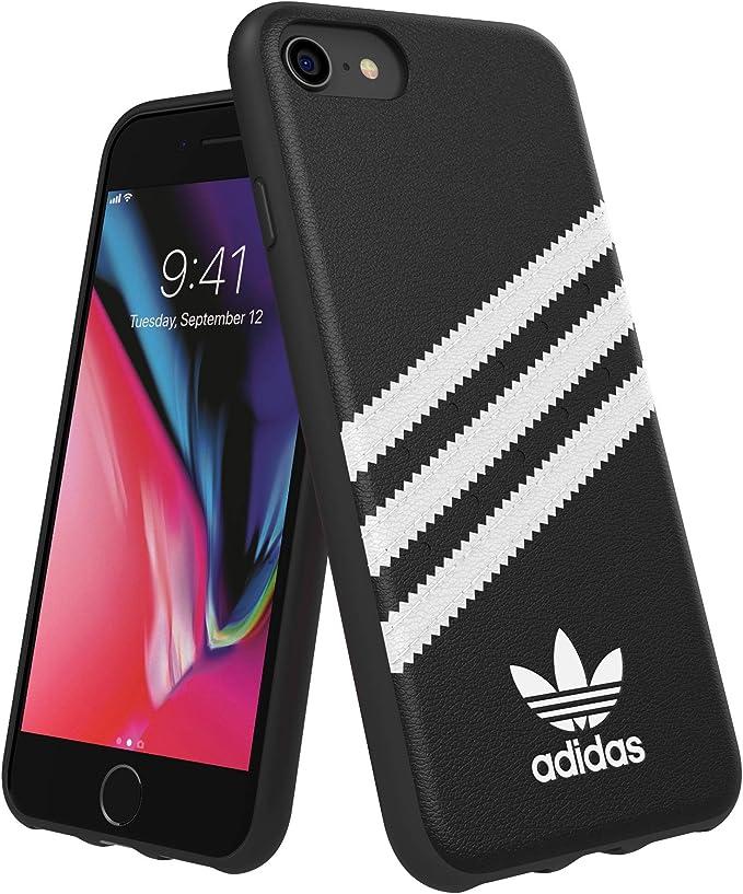 Adidas Schutzhülle Für Iphone 6 6s 7 8 Kunstleder Schwarz Weiß Elektronik