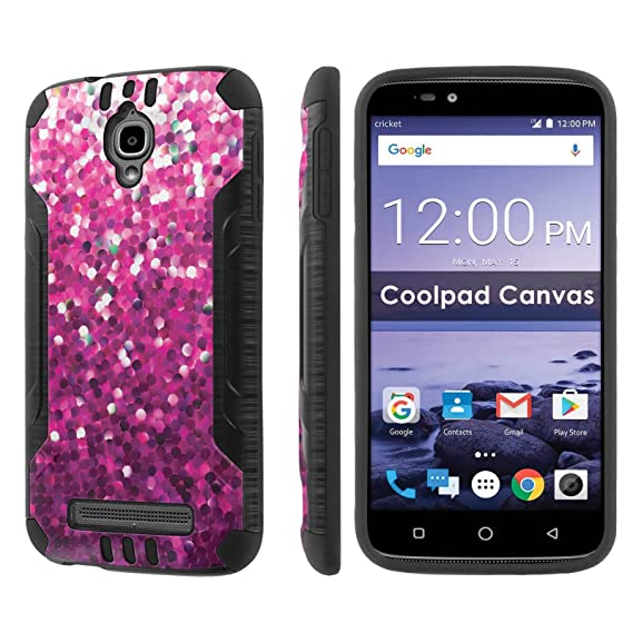 factory price b973b c27e6 Amazon.com: [Nakedshield] Phone Case For Coolpad Canvas 3636A [Black ...