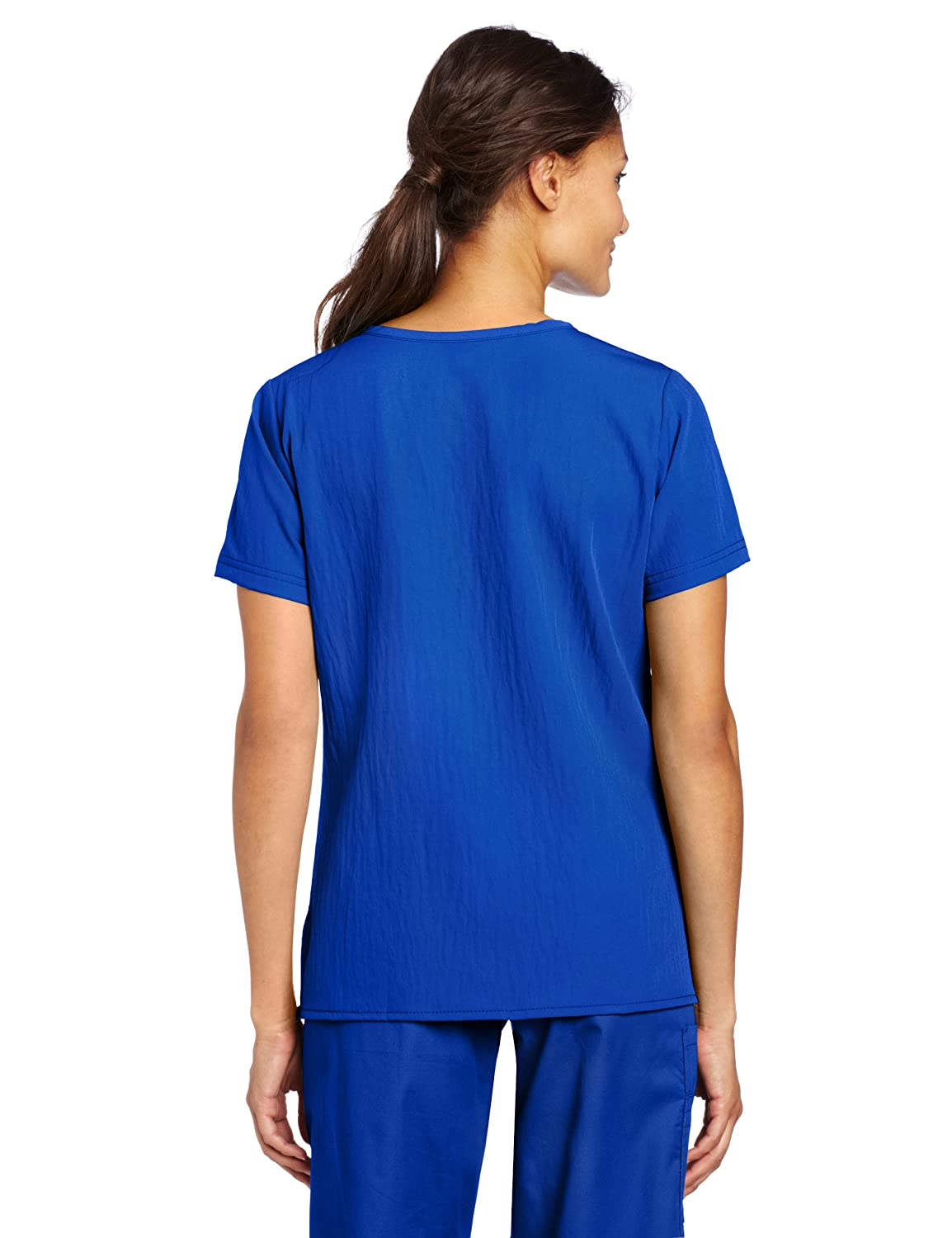 WonderWink Womens Scrubs Stretch Y Neck Image 2