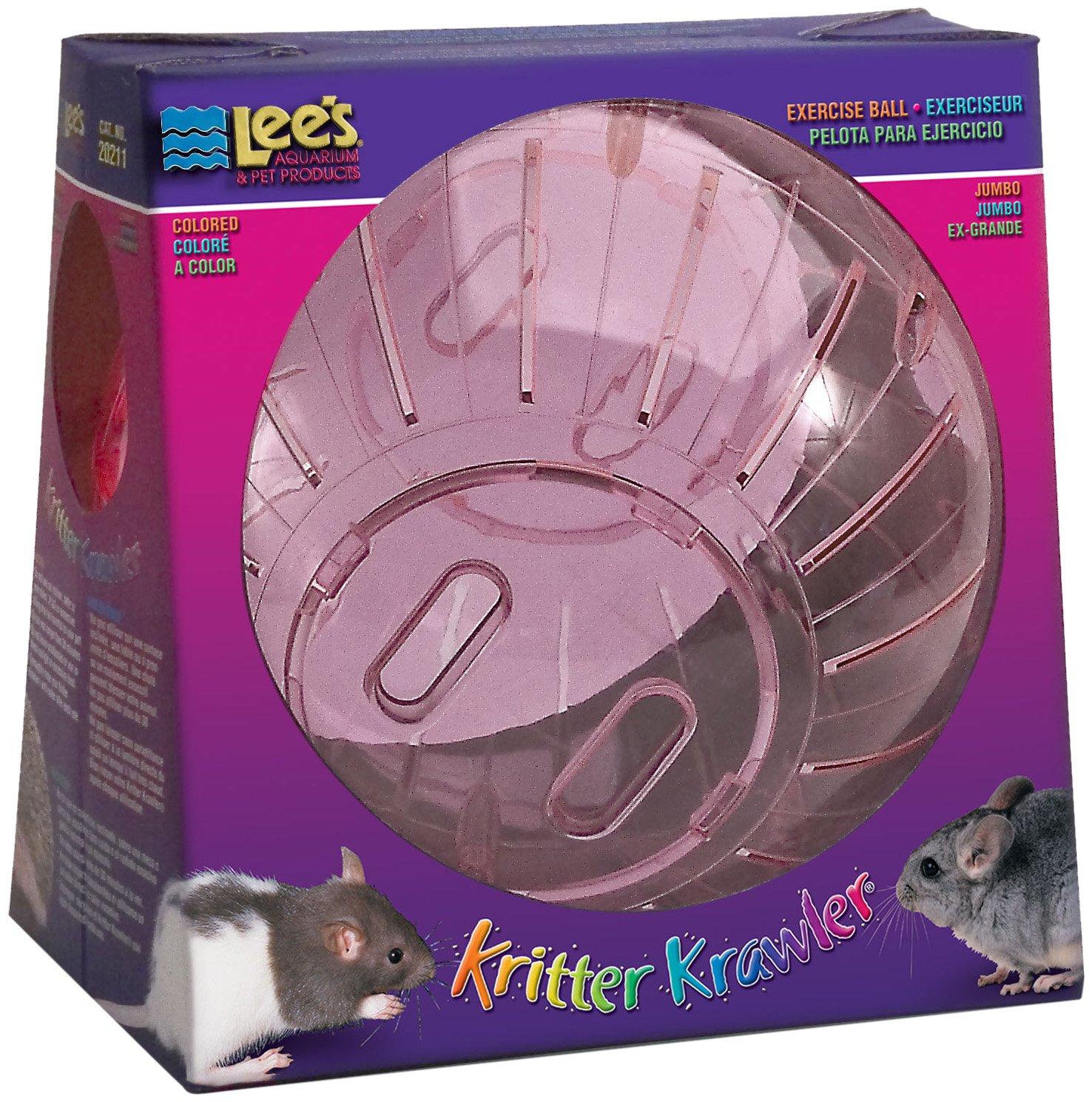 Lee's Kritter Krawler Jumbo Exercise Ball, 10-Inch, (Random colors)