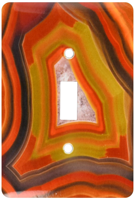 3dRose lsp/_85211/_1  Argentina Condor Agate Stone Pattern Sa01 Bja0045 Jaynes Gallery Single Toggle Switch