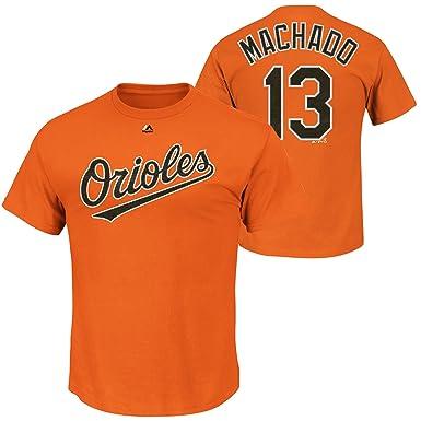 outlet store 90945 510e2 Amazon.com: Manny Machado Baltimore Orioles Youth Orange ...