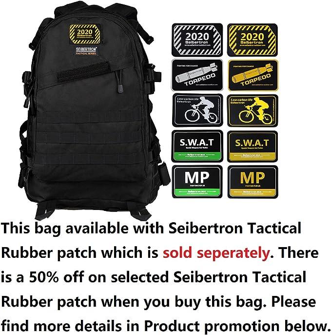 Seibertron Waterproof Bag Scansmart Travel Gear Laptop Computer Notebook Backpack Fits To15 15.6 16 Inch Laptops black