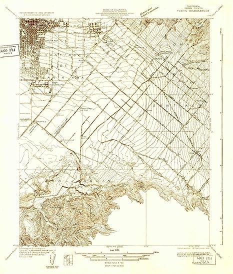 Amazon.com: YellowMaps Tustin CA topo map, 1:31680 Scale ... on city of rialto ca map, pasadena st tustin ca map, orange county tustin ca map,
